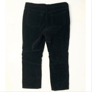 Not Your Daughters Jeans Size 14P Black Corduroy